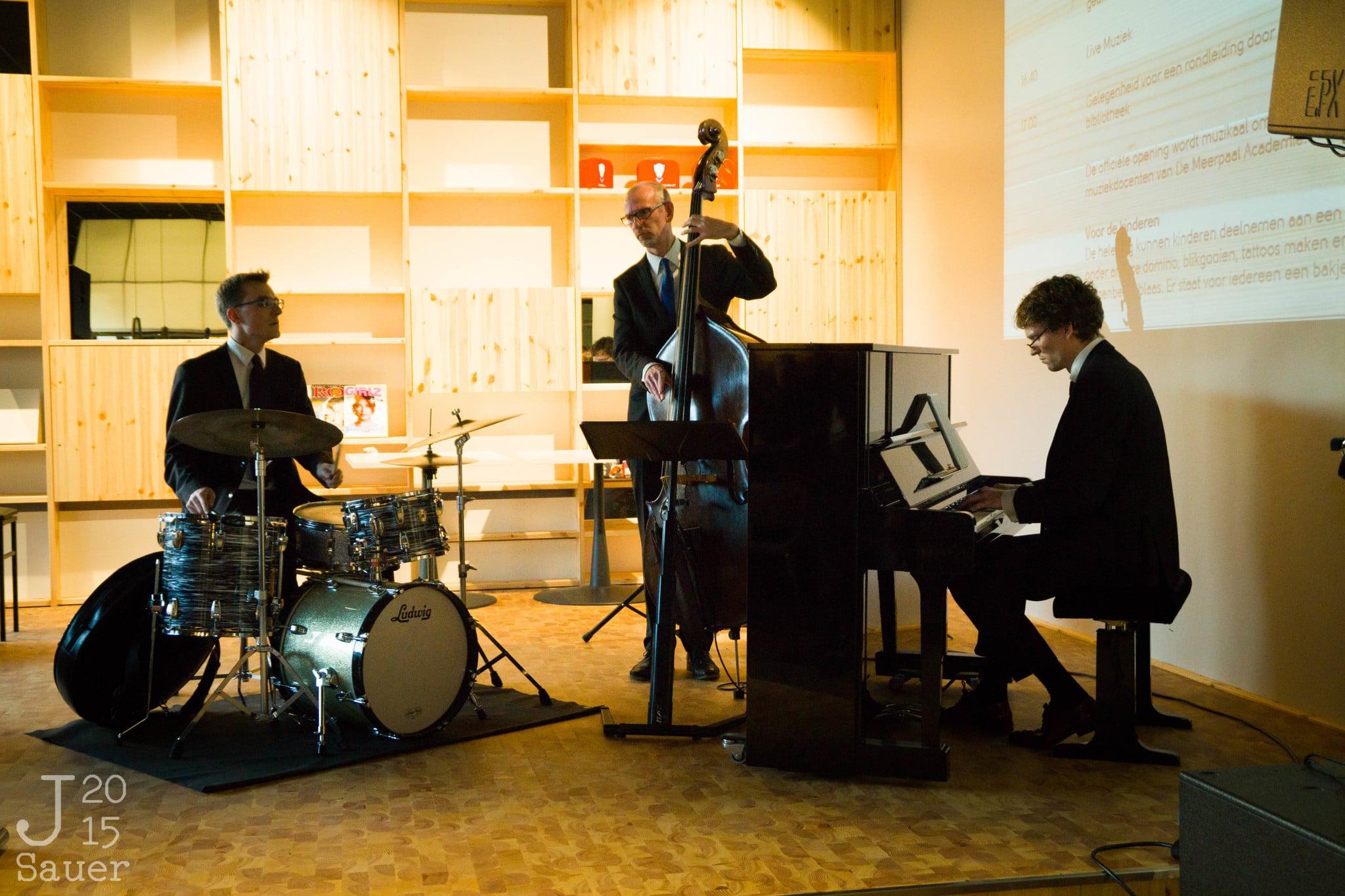 Jazz band opening Serviceplein Dronten