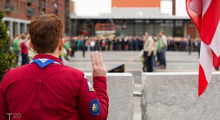 scout dodenherdenking Dronten 2015