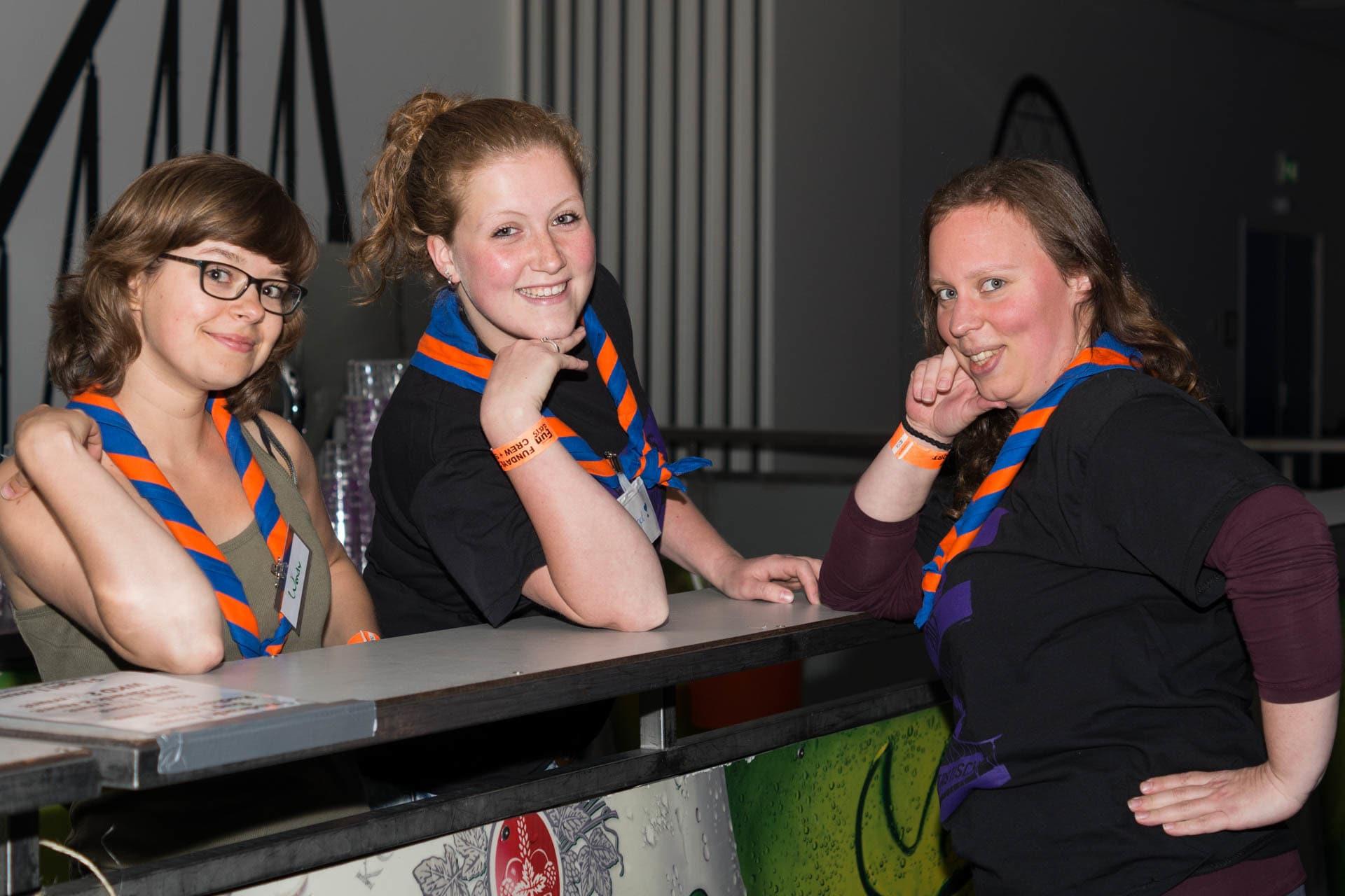 Vrijwilligers Scouting Fundays 2017