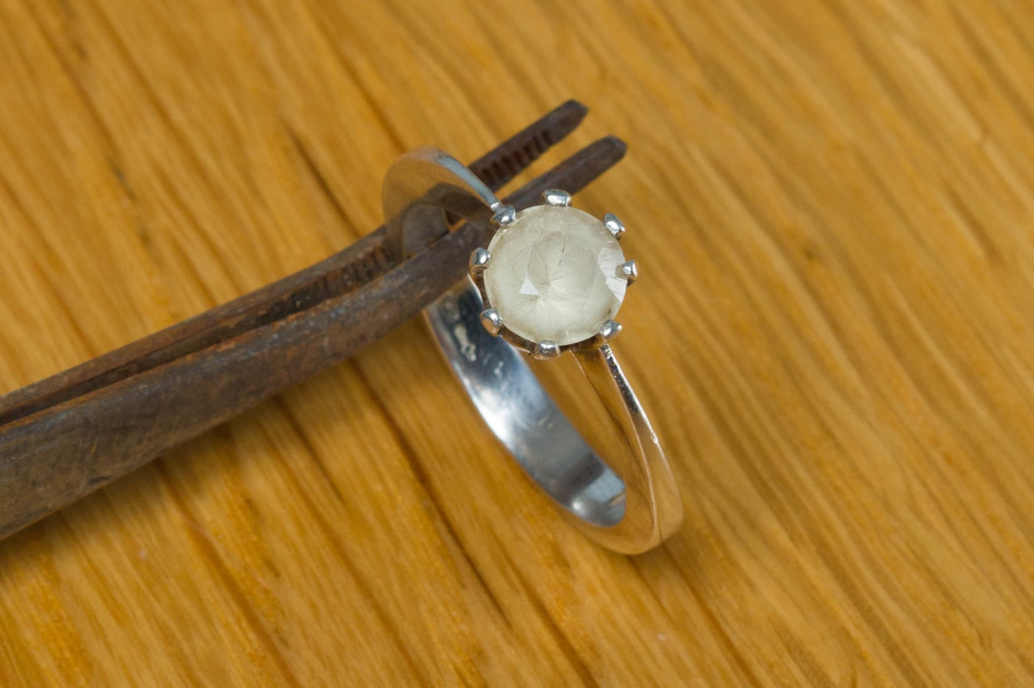 Ring gemaakt door Denise Schaapman