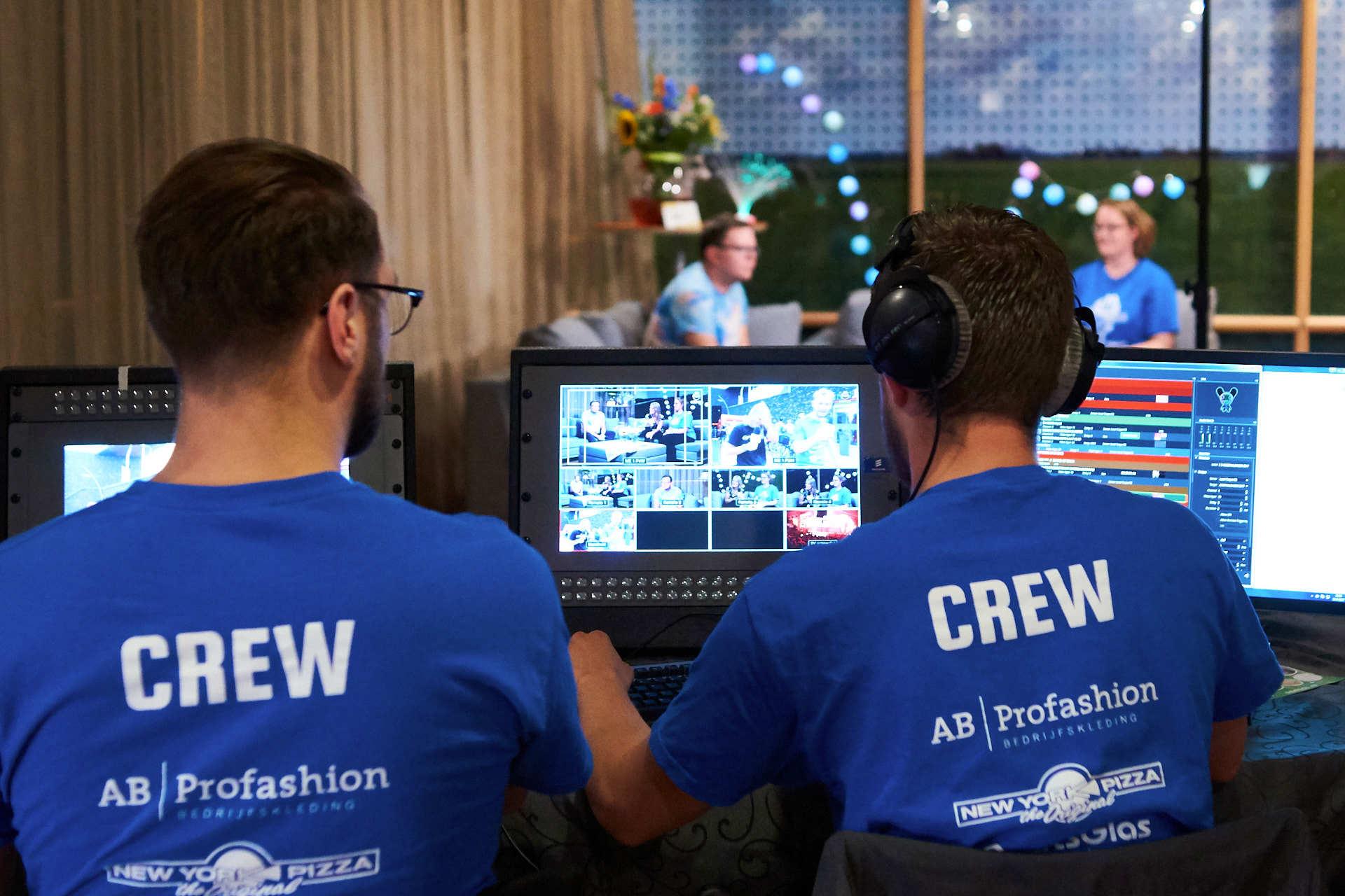 Videoteam Meerpaaldagen 2017 in actie
