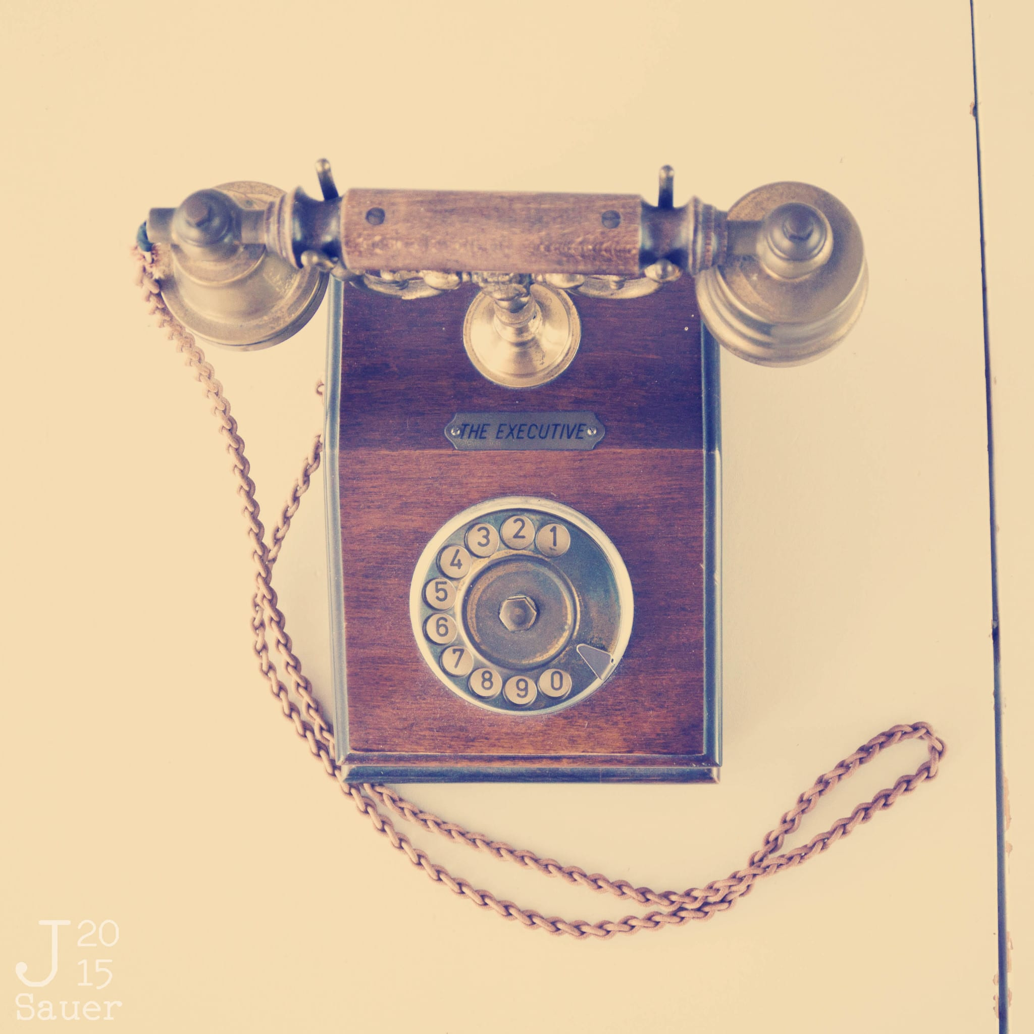Tekstbureau 't Kofschaap retro telefoon