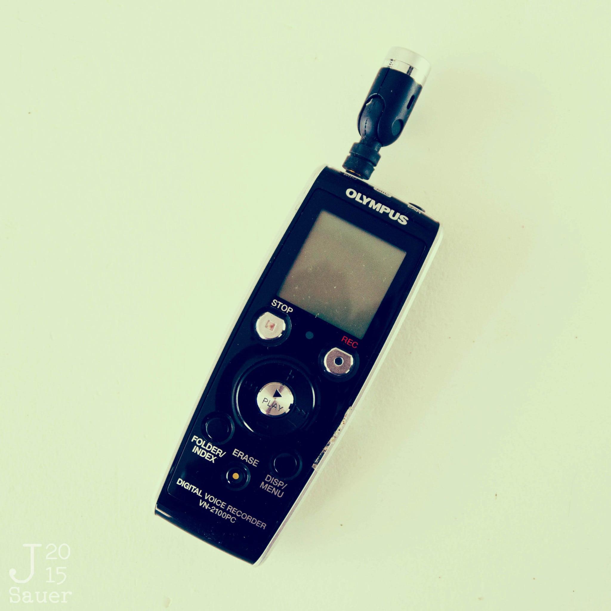 Tekstbureau 't Kofschaap voicerecorder lomo