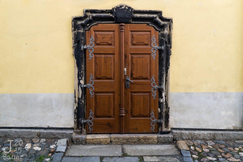 Houten deur Tsjechië