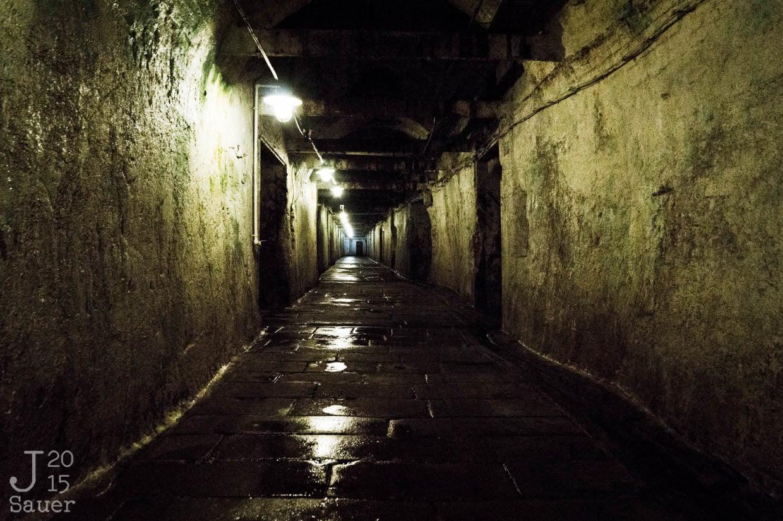 Gang in gistkelder brouwerij Pilsner Urquell