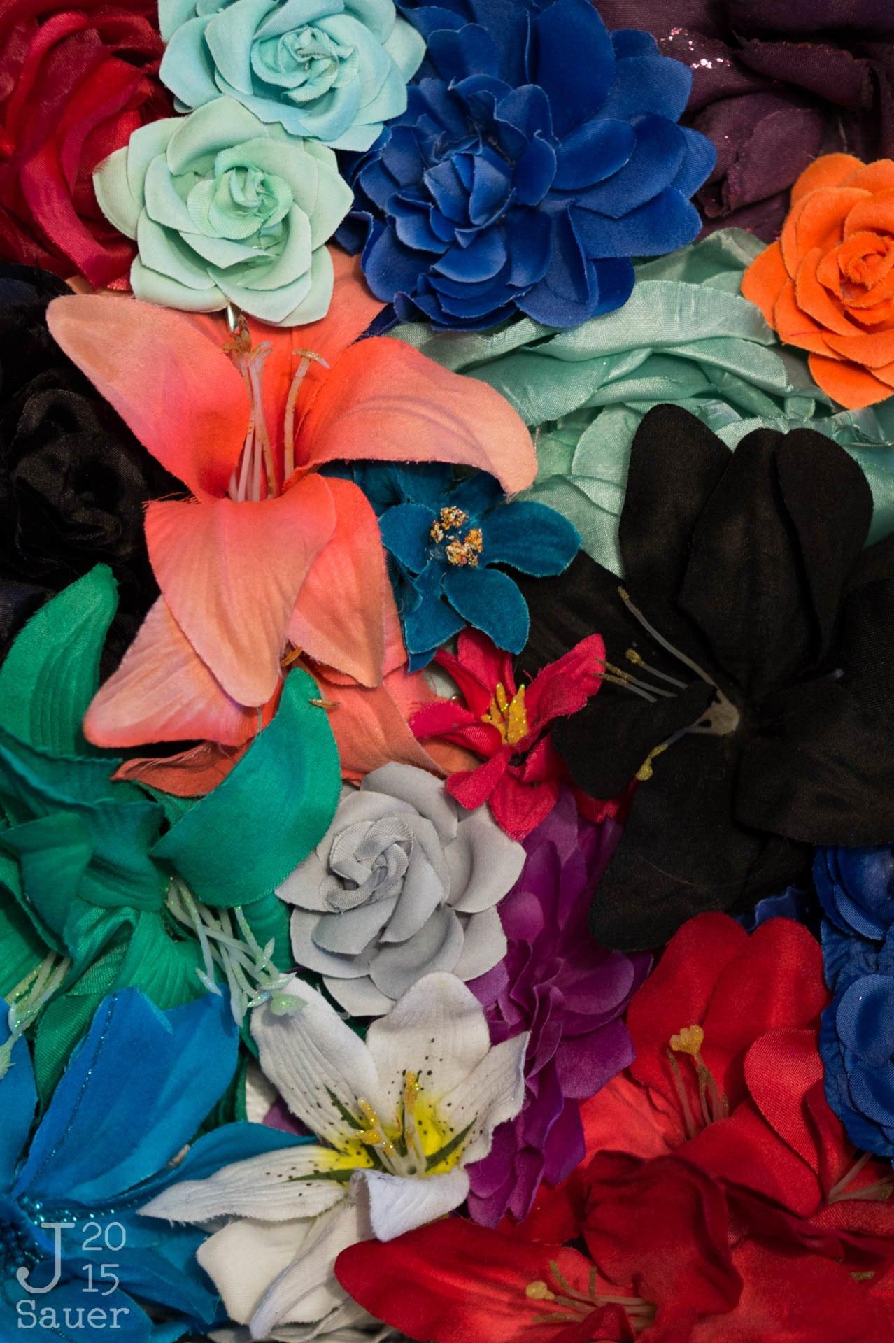 Bloemen zonder Colorchecker