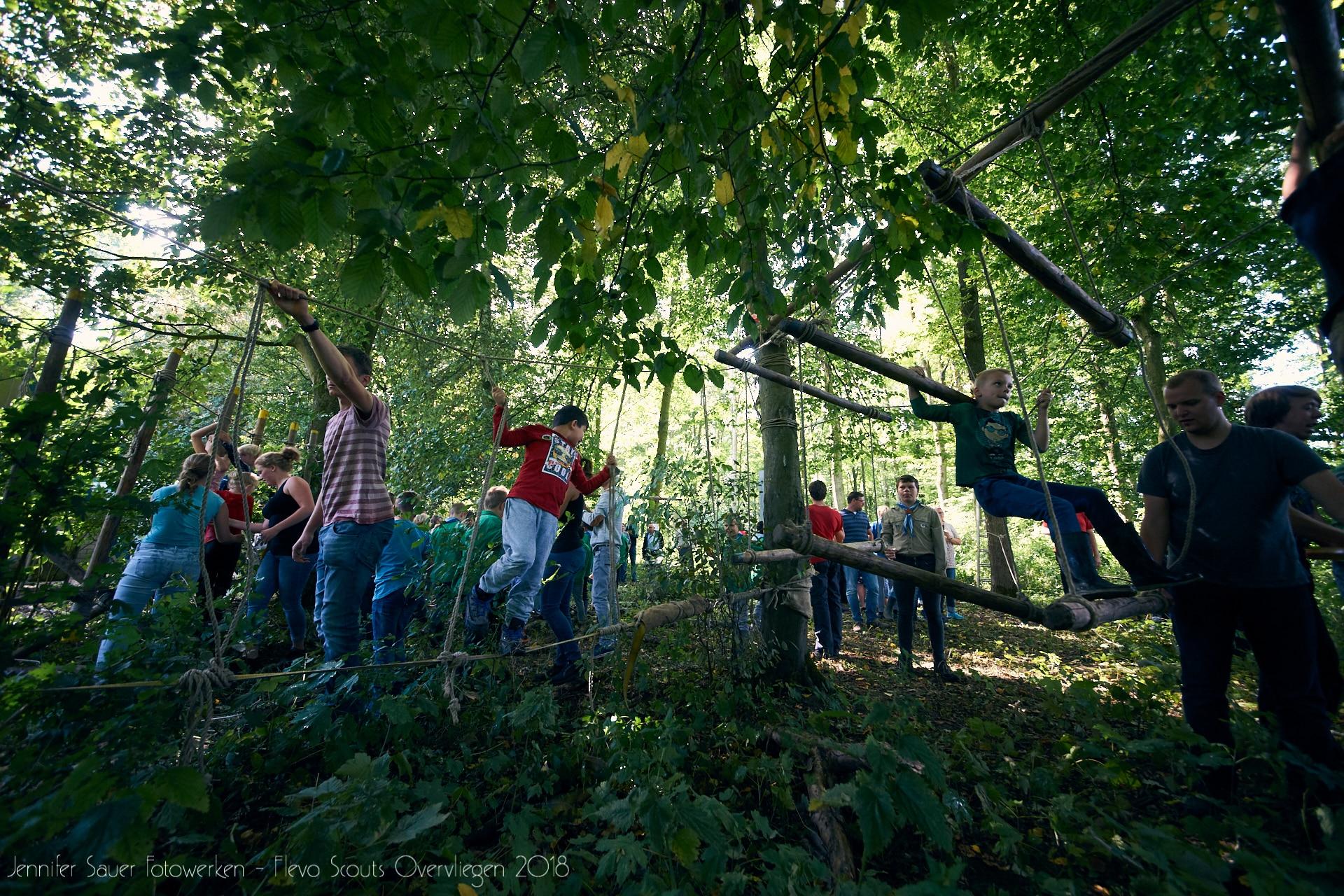 Overvliegen Flevo-Scouts